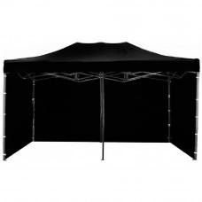 Namiot handlowy AGA 3S POP UP 3 x 6 m czarny Preview