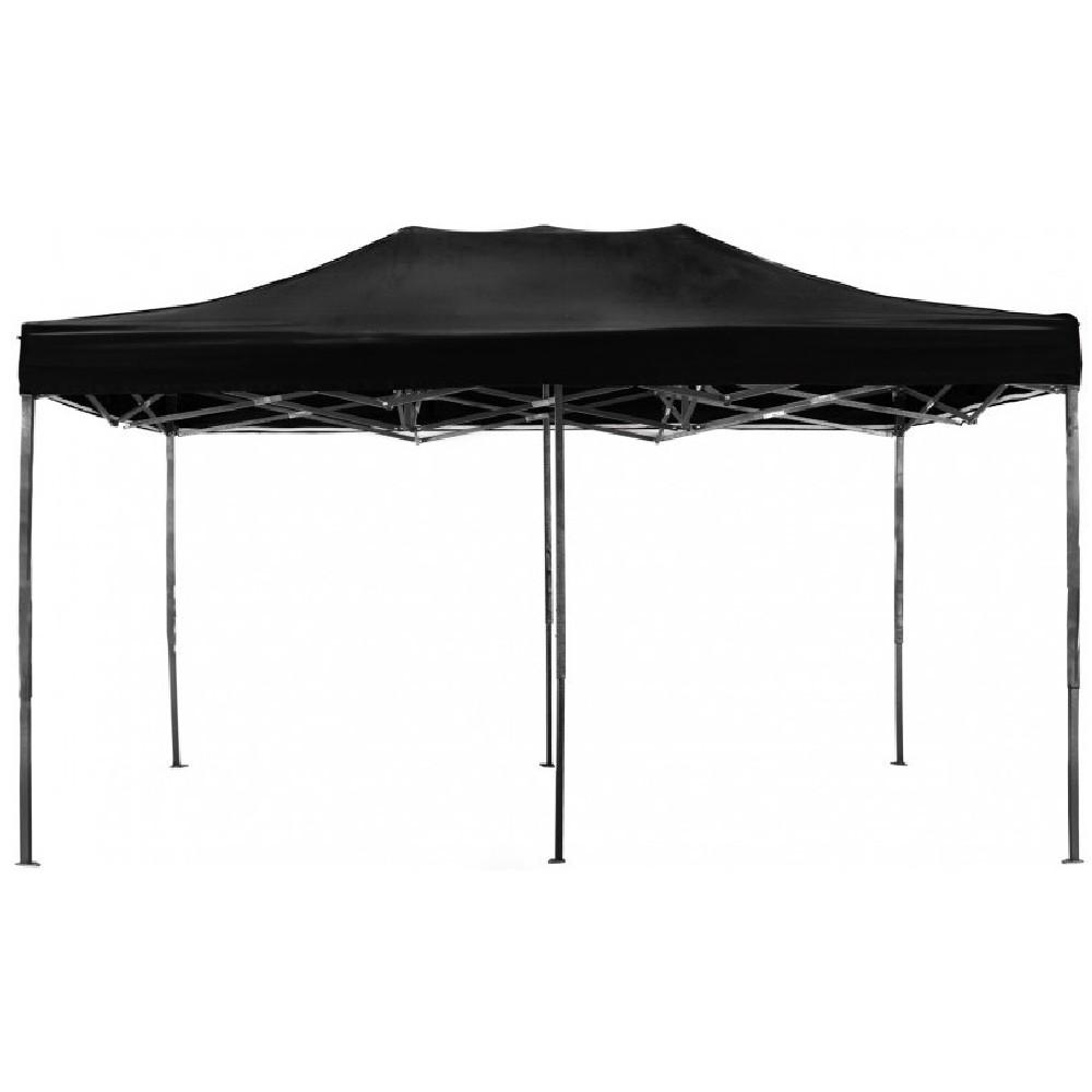 Namiot handlowy AGA 3S POP UP 3 x 6 m czarny | Namioty
