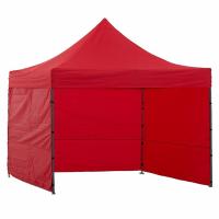 Namiot handlowy AGA 3S POP UP 3 x 3 m czerwony