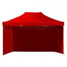 Namiot handlowy AGA 3S POP UP 3 x 4,5 m czerwony Preview