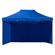 Namiot handlowy AGA 3S POP UP 3 x 4,5 m niebieski Preview