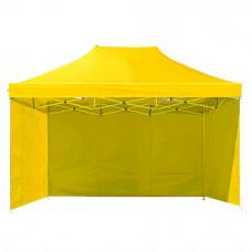 Namiot handlowy AGA 3S POP UP 3 x 4,5 m żółty Preview