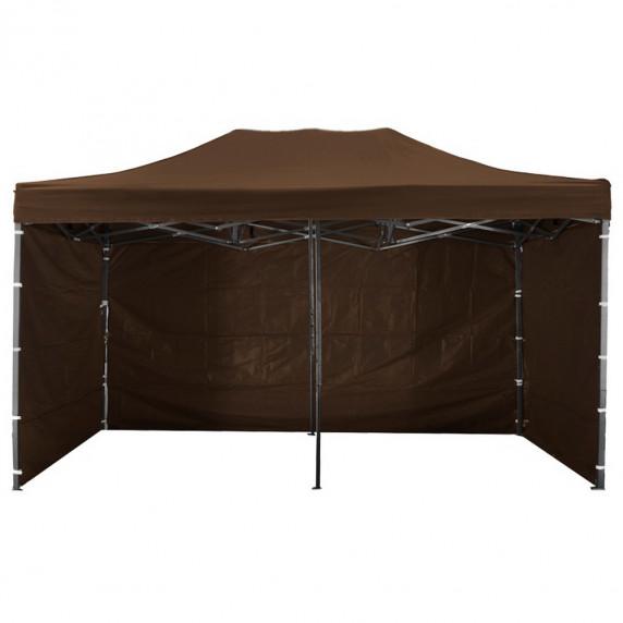 Namiot handlowy AGA 3S POP UP 3 x 6 m brązowy