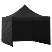 Namiot handlowy AGA 3S POP UP 3 x 3 m czarny