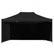 Namiot handlowy AGA 3S POP UP 3 x 4,5 m czarny