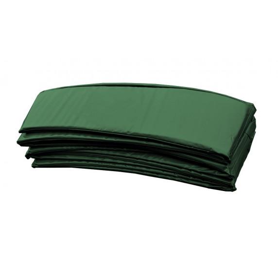 Trampolina Sport Top Aga 500 cm (16 Ft) z zewnętrzną siatką  ochronną, zielona