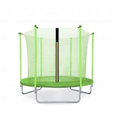 Trampolina Sport Fit Aga 180 cm (6 Ft) z wewnętrzną siatką ochronną, jasnozielona Preview