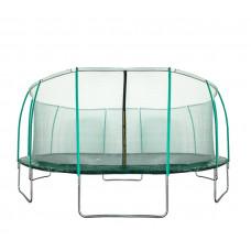 Trampolina Sport Fit Aga 500 cm (16 Ft) z wewnętrzną siatką ochronną, zielona Preview