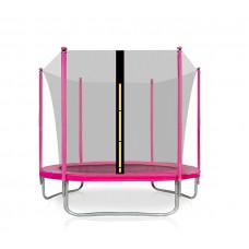 Trampolina Sport Fit Aga 180 cm (6 Ft) z wewnętrzną siatką ochronną, rózowa Preview