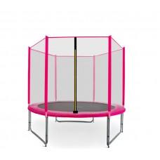 Trampolina Sport Pro Aga 180 cm (6 Ft) z zewnętrzną siatką ochronną, różowa Preview