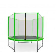 Trampolina Sport Pro Aga 180 cm (6 Ft) z zewnętrzną siatką ochronną, jasnozielona Preview
