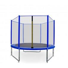 Trampolina Sport Pro Aga 250 cm (8 Ft) z zewnętrzną siatką ochronną, niebieska Preview