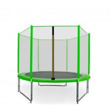 Trampolina Sport Pro Aga 250 cm (8 Ft) z zewnętrzną siatką ochronną, jasnozielona Preview