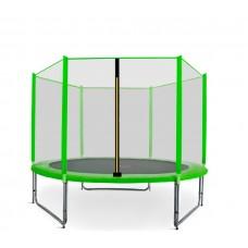 Trampolina Sport Pro Aga 305 cm (10 Ft) z zewnętrzną siatką  ochronną, jasnozielona Preview