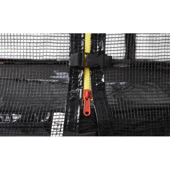 Trampolina Sport Top Aga 180 cm (6 Ft) z zewnętrzną siatką ochronną, ciemnozielona