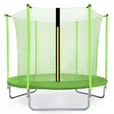 Trampolina Sport Fit Aga 305 cm (10 Ft) z wewnętrzną siatką ochronna, jasnozielona Preview