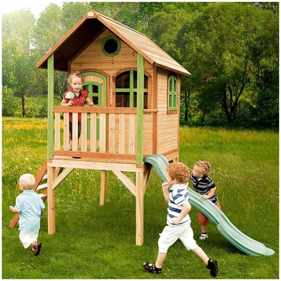 Domek ogrodowy AXI Laura dla dzieci, drewniany