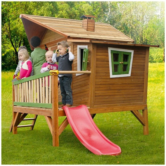 Domek ogrodowy AXI Emma dla dzieci, drewniany
