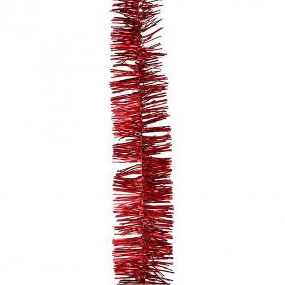 Bombki choinkowe Inlea4Fun, + łańcuchy, 32 elementy, czerwone