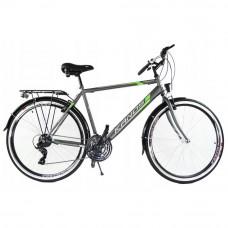 """Rower trekkingowy Kands Galileo Men 28"""" szary-zielony Preview"""