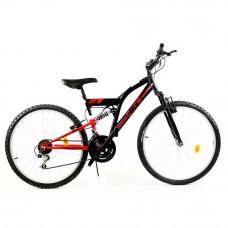 Rower górski 26'' Goetze Core czarny-czerwony Preview