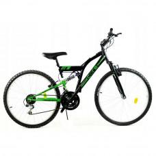Rower górski 26'' Goetze Core czarny-zielony Preview