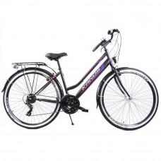 """Rower miejski Kands Galileo Lady 28"""" czarny-fioletowy Preview"""