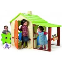 Domek ogrodowy Injusa Country House dla dzieci, plastikowy