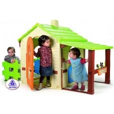 Domek ogrodowy Injusa Country House dla dzieci, plastikowy Preview