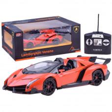 Auto RC Lamborghini Veneno zdalnie sterowane, pomarańczowe 1:14 Preview
