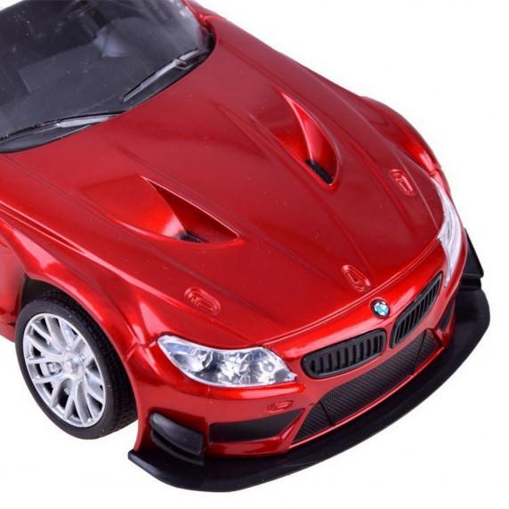 Auto RC sportowe BMW Z4 GT3, zdalnie sterowane, skala 1:24, czerwone