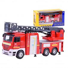 Auto straż pożarna Inlea4Fun z dźwiękiem i światłami Preview