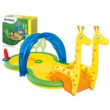 Dmuchany plac zabaw Bestway dla dzieci Żyrafy + akcesoria