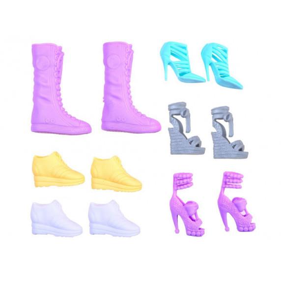 Inlea4Fun ANLILY szafa z ubraniami, lalka + akcesoria