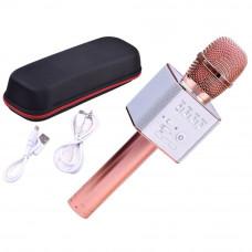 Mikrofon bezprzewodowy Inlea4Fun INOX, bluetooth z głośnikiem, rose
