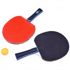 Zestaw do ping ponga, 2 rakietki + siatka + 3 piłeczki Preview