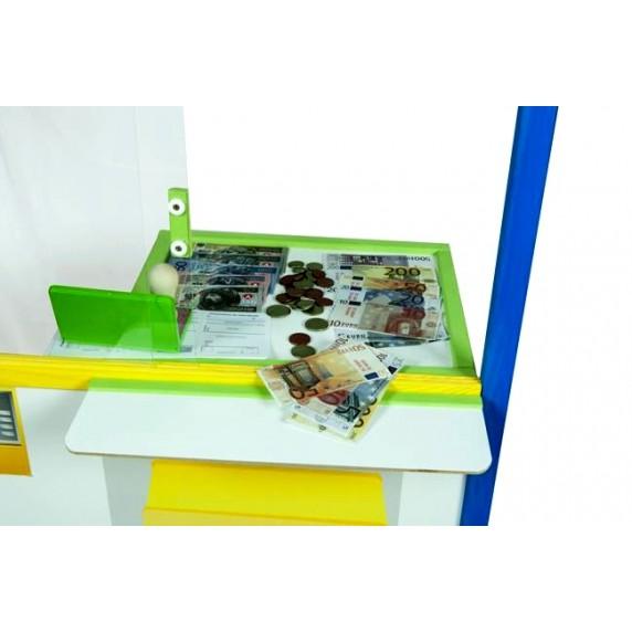 Tablica Inlea4Fun Bank z monetami i banknotami