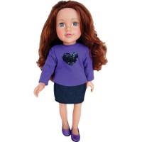 Lalka brunetka Design Lily 46 cm