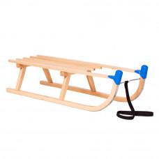 Sanki drewniane PILSKO Inlea4Fun, bez oparcia 90 cm, z ochraniaczem Preview