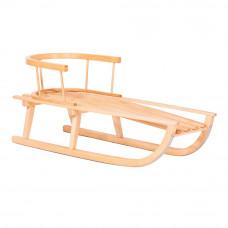 Sanki drewniane GRONIK Inlea4Fun z oparciem  Preview