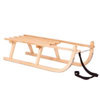 Sanki drewniane Inlea4Fun, bez oparcia 90 cm