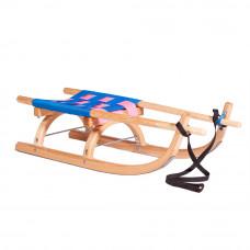 Sanki drewniane GERLACH SPORT PRO Inlea4Fun, 90 cm, miękkie siedzisko Preview