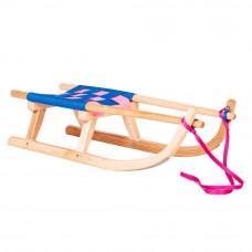 Sanki drewniane GERLACH SPORT Inlea4Fun, 90 cm, miękkie siedzisko Preview
