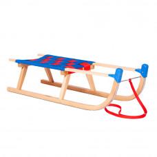 Sanki drewniane PILSKO Inlea4Fun 90 cm, miękkie siedzisko, z ochraniaczem Preview