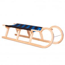 Sanki drewniane KOZINIEC Inlea4Fun, 120 cm, miękkie siedzisko Preview