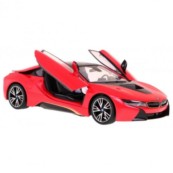 Auto RC  BMW i8 - Rastar, skala 1:24, czerwone