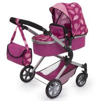 Wózek dla lalek REIG City Star głeboki - różowy